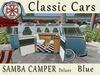 [AIKIOTO] Samba Camper Blue Deluxe (BOX)