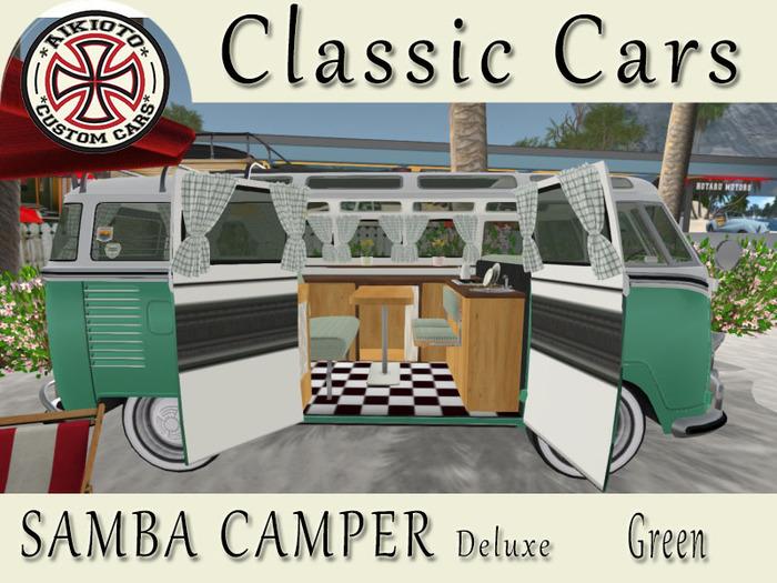 [AIKIOTO] Samba Camper Green Deluxe (BOX)