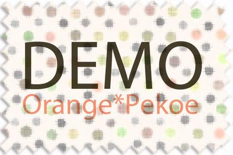 Orange*Pekoe - Nerdy duffle with house jumper - DEMO