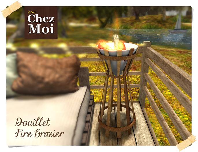 Douillet Fire Brazier ♥ CHEZ MOI