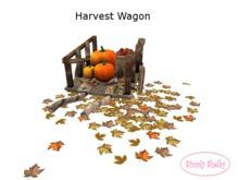 Fall Harvest Decorative Wagon