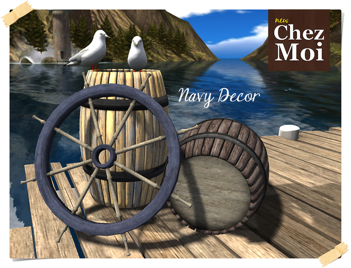 Navy Decor ♥ CHEZ MOI