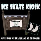 .:-CatniP-:. Ice Skate Kiosk , Ice Skate Giver
