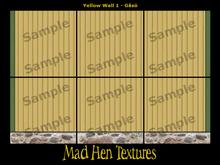 Mad Hen - Swedish Yellow Wood Wall 1 - Gåsö