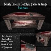 ~tc~ MESH Butcher Table Set Full Perm