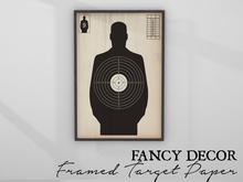 Fancy Decor: Framed Target Paper