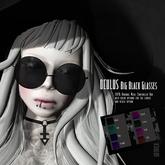 Goth1c0: Oculus Round Big Glasses