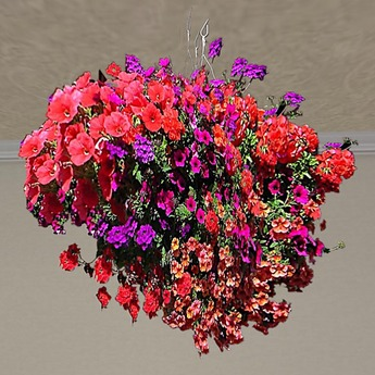 Hanging Basket 7 (only 1 prim!)