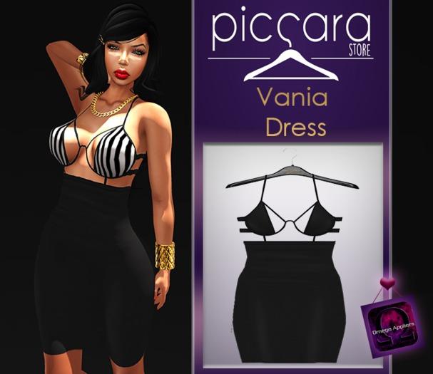 - piccara - :: Vania Dress - Black
