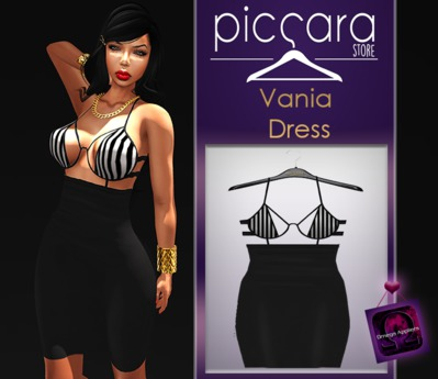 - piccara - ::  Vania Dress - Lined