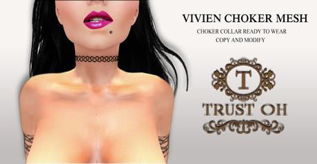 :: Trust Oh :: Vivien Choker Mesh