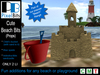 PB - Beach Bits (props). Add a few fun bits to your beach!