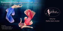 <Yabusaka> Petite Mermaid Tail (Betta)