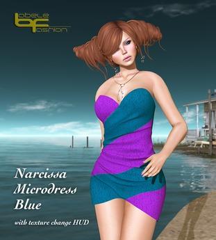 Babele Fashion :: Narcissa Microdress Blue