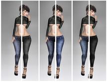 Skinny Jeans  FAT PACK - Fit Mesh - (tm) Freeky