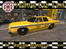 [AIKIOTO] 74' Yellow Cab Taxi (BOX)