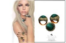 Ira Malachite Ring by Tracei