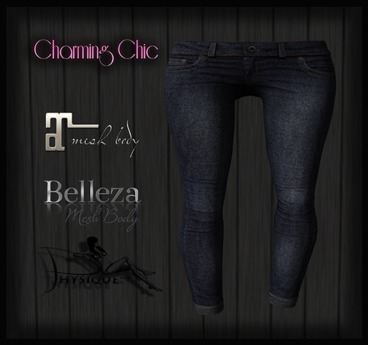 {CC} Skinny Jeans - Blue  {ADD ME}