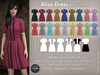 Mutresse - Alisa Dress - 18 Colors for Slink/Maitreya/Belleza Isis/Standard Sizes