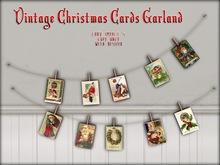 Boudoir Christmas -Christmas Card Garland