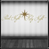 *~LT~*  Silent Night Holy Night Wall Art Decal