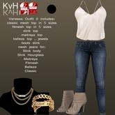 *KvH* Vanessa Outfit II Black (box)