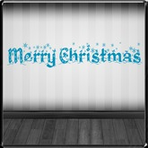 *~LT~* Merry Christmas Wall Art Decal