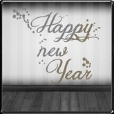 *~LT~* Happy New Year Wall Art Decal