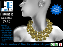"PB - 'Flaunt It' necklace for those seeking a ""Wow!"" factor"