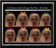 Cele'Sations Color Change Hair Bow