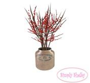 Twigs & Berries Vintage Jar - Clearance Sale Item