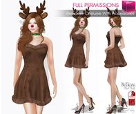MI960584 MI Reindeer Costume FITMESH