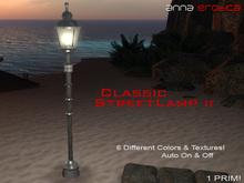 Anna Erotica - Classic Streetlamp II - Auto On/Off - 1 Prim!