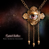 !Musa! EyeBall Necklace (Gold)