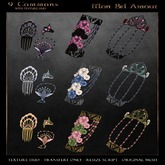 .aisling. Mon Bel Amour - Hands & Hairpin (Black)