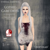 ::ED::  Gothic Cami dress-  Drop dead
