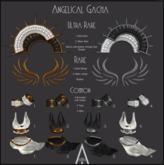 .AiShA. Angelical Skirt S Gold Black (Rezz&Click)