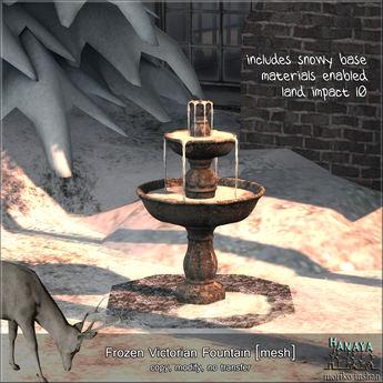 -Hanaya- Frozen Victorian Fountain [mesh]