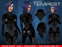 GRAVES Tempest - Black + inclusive Omega, Slink, TMP appliers