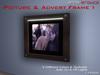 Anna Erotica - Picture & Advert Frame I - 9 Textures, Auto Light - 1 Prim!