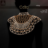 . aisling . Celia Necklace - Chest Jewelry (Fitted)