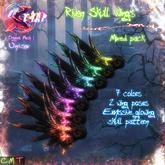 [][]Trap[][] Riven Wings Skulls Mixed