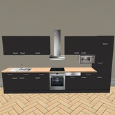 Kitchenette-Black