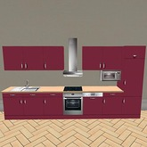 Kitchenette-Red