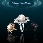 !Musa! Flower Pearl Ring