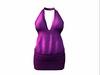 Maddie Dress Purple Dots