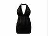 Maddie Dress Black Dots