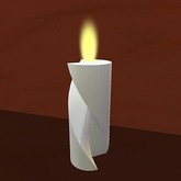 Creativity Candle - Cut