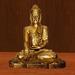 Buddhafigur 2 mit Sprüchen