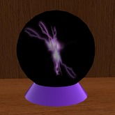 Lightning Sphere Purple